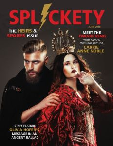 Splickety June 2018 cover